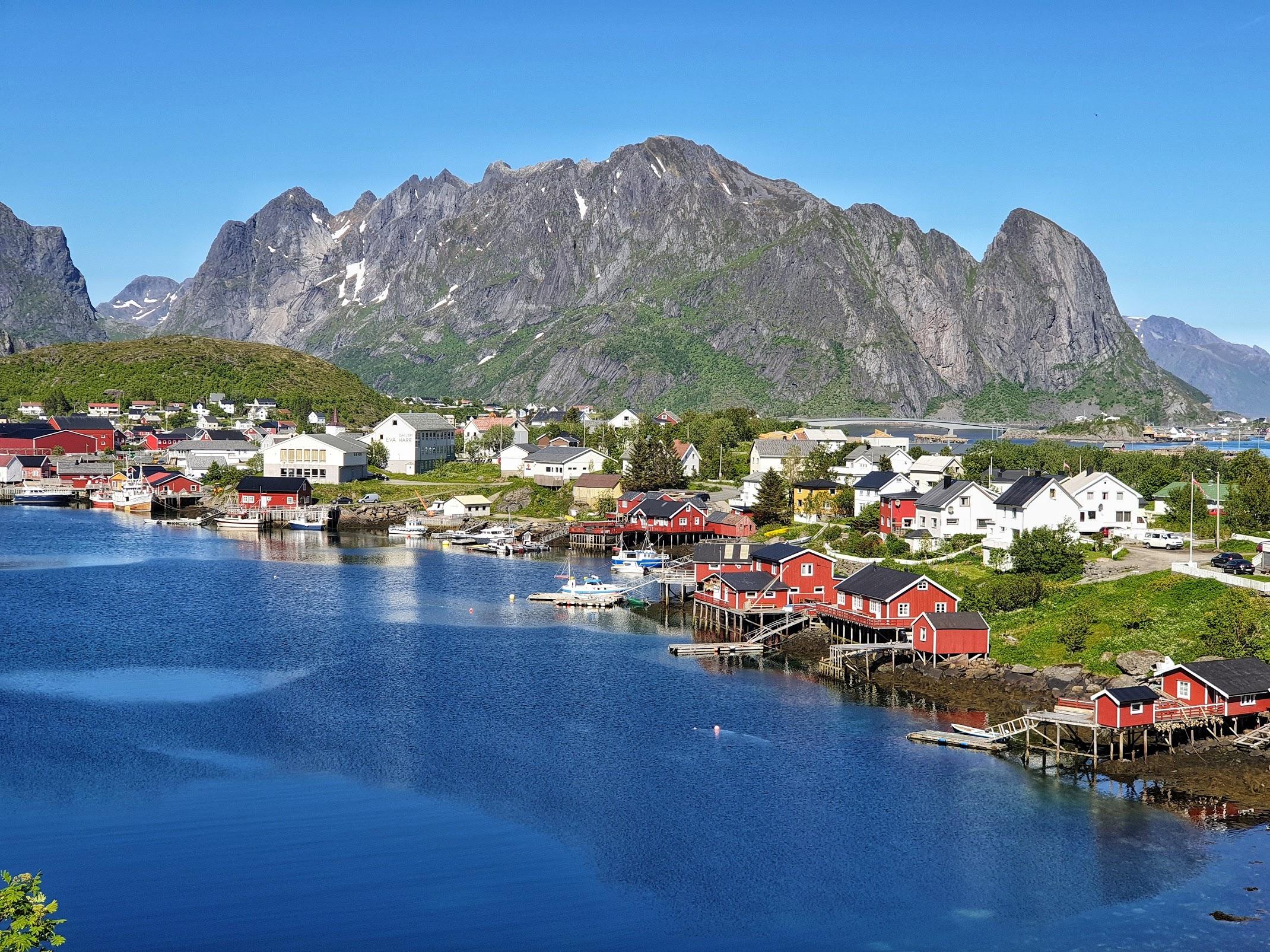 Заполярная Норвегия. Июнь 2019. Фотоотчет