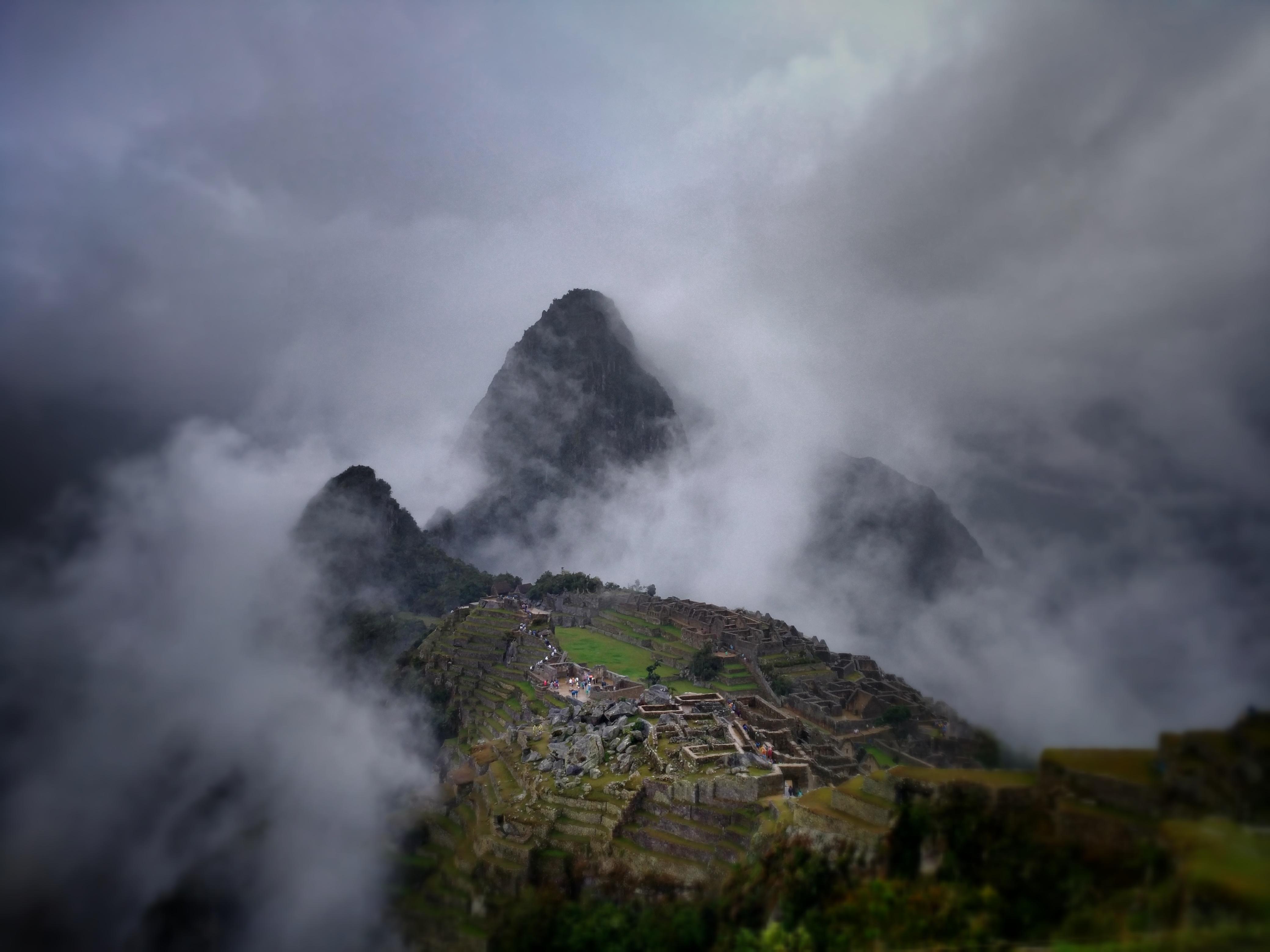 История Мачу Пикчу в Перу.